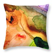 Creation's Embrace Throw Pillow