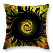 Creative Minds It Started With A Dahlia Throw Pillow