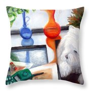 Creative Reflections Throw Pillow