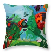 Creative Soul Throw Pillow