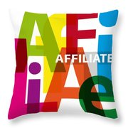 Creative Title - Affilate Throw Pillow