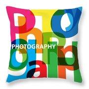 Creative Title - Photography Throw Pillow