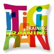 Creative Title - Training Throw Pillow