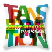 Creative Title - Transformation Throw Pillow