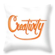 Creativity Throw Pillow by Cindy Garber Iverson