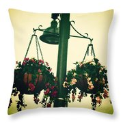 Creativity Moulds Life Positively  Throw Pillow
