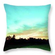 Creator's Sky Painting Throw Pillow
