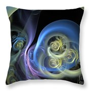 Creatures From Beneath Throw Pillow