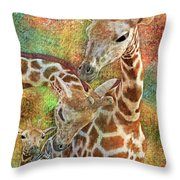 Creatures Great And Small Throw Pillow