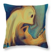 Creatures Throw Pillow