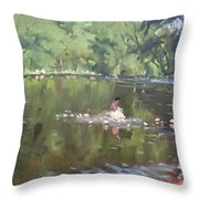 Credit River By Norval On Throw Pillow
