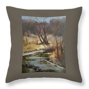 Credit River Throw Pillow