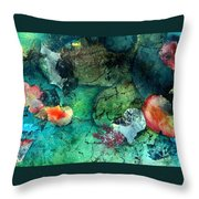 Creek Bed Throw Pillow