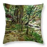 Creekside II Throw Pillow