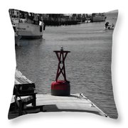 Creekside Living Throw Pillow