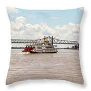 Creole Queen New Orleans Throw Pillow