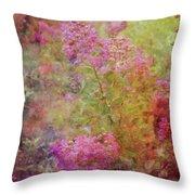 Crepe Garden 1776 Idp_2 Throw Pillow