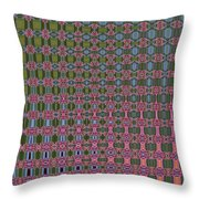 Crepe Myrtle Abstract Throw Pillow