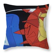 Crescendo One Throw Pillow