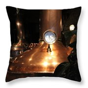 Crescent City Brewhouse  Throw Pillow