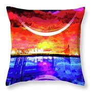 Crescent City Throw Pillow