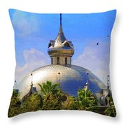 Crescent Of The Dome Throw Pillow