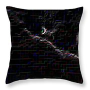Crescent Rising Throw Pillow