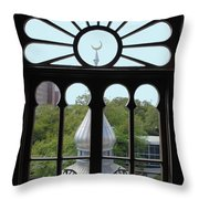 Crescent Window Throw Pillow