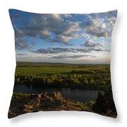 Cress Creek View Throw Pillow