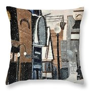 Crested Butte In The 80's Throw Pillow