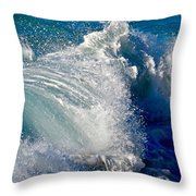 Cresting Wave Throw Pillow