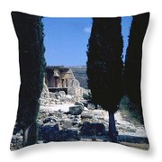 Crete Throw Pillow