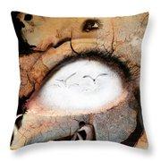 Crevice Throw Pillow