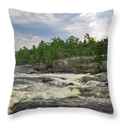 Crib Works 2 Throw Pillow
