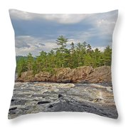 Crib Works Throw Pillow