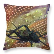 Cricket Magic Throw Pillow