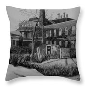 Cries In The Night Throw Pillow
