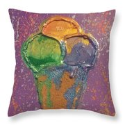 Crill's Ice C.r.e.a.m. Throw Pillow
