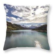 Crisped Lake Throw Pillow