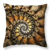 Crispy Crackles Throw Pillow