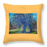 Crystal Light Throw Pillow