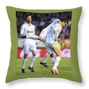 Cristiano Ronaldo 3 Throw Pillow