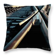 Critical Point Throw Pillow