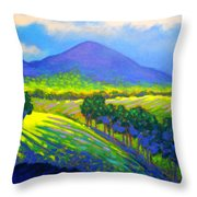 Croagh Patrick County Mayo Throw Pillow