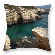 Croatia Throw Pillow