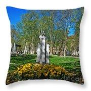 Croatian Giant - Ivan Mazuranic Throw Pillow