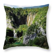 Croatias Wonders Throw Pillow