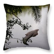 Croco Throw Pillow