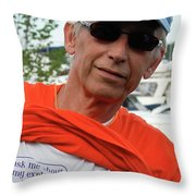 Crohn's Is A Funny Disease Throw Pillow