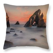 Crohy Head Sea Arch Throw Pillow